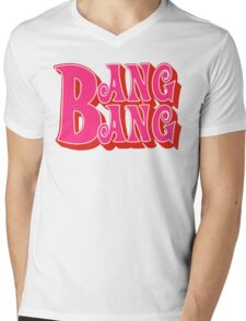 Bang Bang Mens V-Neck T-Shirt