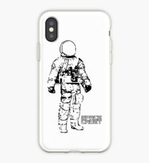 Minimalist Space Suit iPhone Case