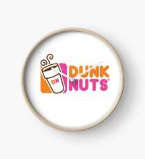 Dunk nuts Clock