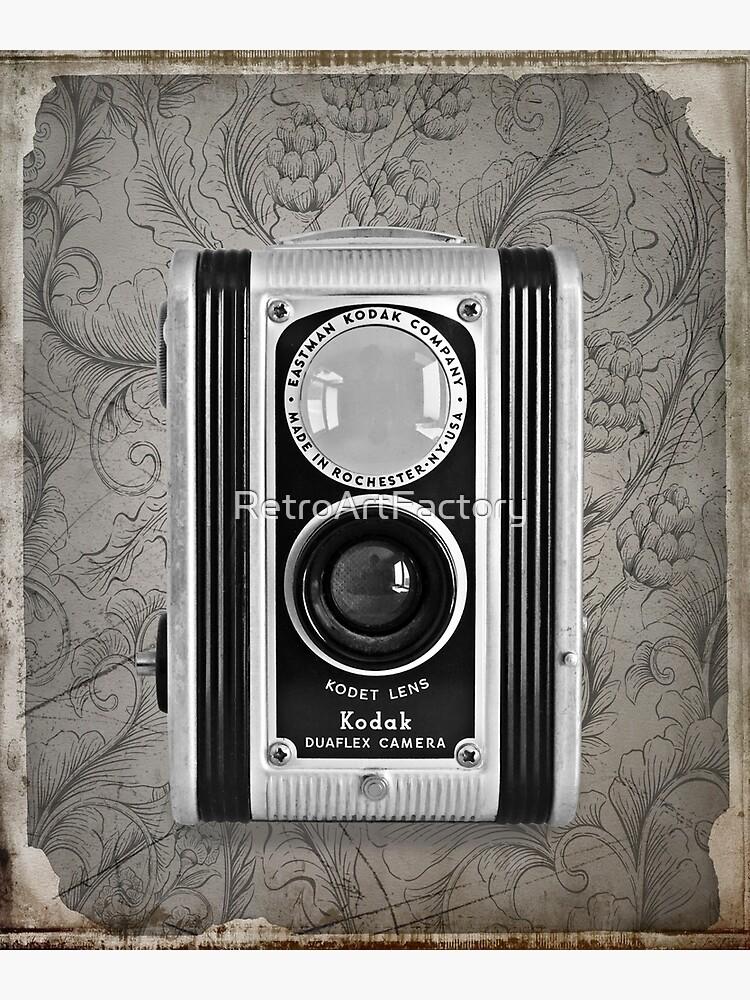 Kodak Duaflex Camera - Vintage Black and White by RetroArtFactory