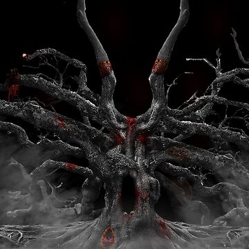 A gothic Tree...I loved doing this piece of art. by WFP87