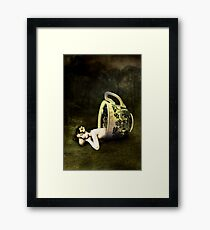 The teacup Framed Print