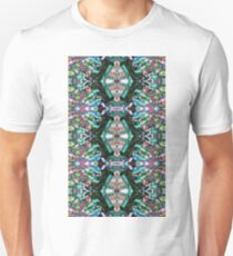 Trippy Psychedelic Tribal Print Color Unisex T-Shirt