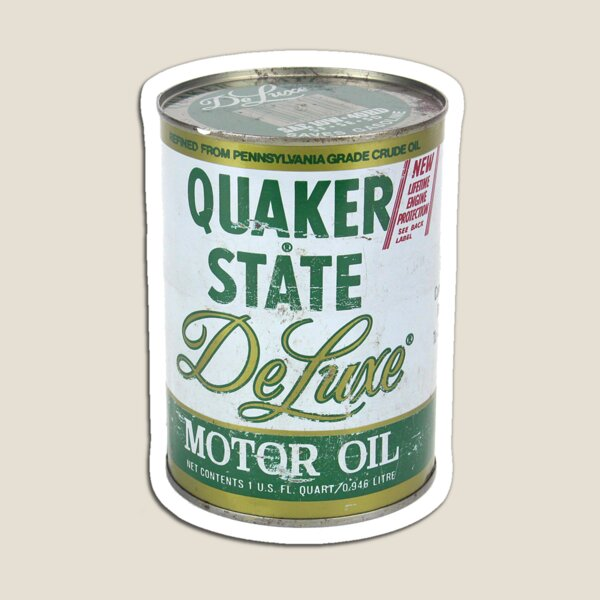 Quaker State Oil Can Magnet