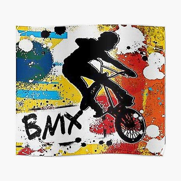 peinture murale Bmx Art Poster