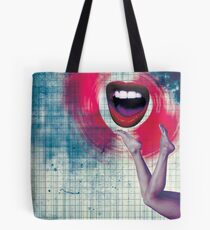 Color Chaos Collection -- Bla Bla Bla Tote Bag