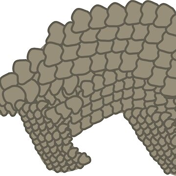 Perfect Little Pangolin by awkwarddesignco