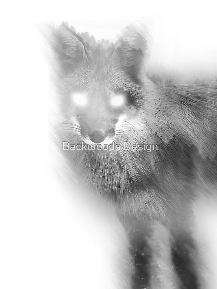 Double Exposure Fox by RumFoxMedia