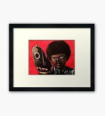 Jules from Pulp Fiction Framed Print
