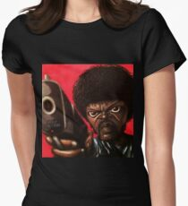 Jules from Pulp Fiction Womens Fitted T-Shirt