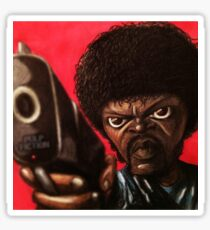 Jules from Pulp Fiction Sticker