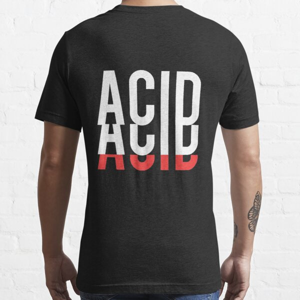 ACID T-SHIRT T-shirt essentiel