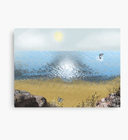 bleakness and hot air Canvas Print