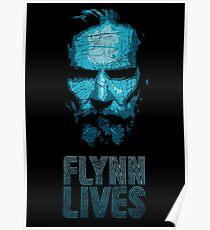 Kevin Flynn - Tron Poster