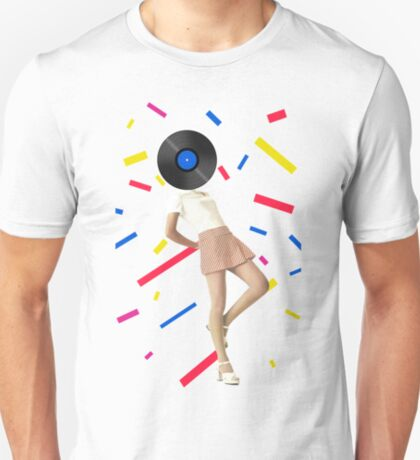 Color Chaos Collection -- The Party Never Ends T-Shirt