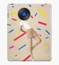 Color Chaos Collection -- The Party Never Ends iPad Case/Skin