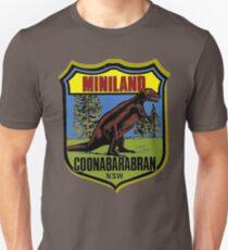 Vintage Miniland, Dinosaur Park, Coonabarabran, Australia (Defunct) Unisex T-Shirt
