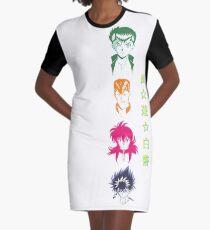 Yu Yu Hakusho Graphic T-Shirt Dress