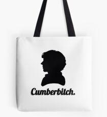 Cumberbitch silhouette design Tote Bag