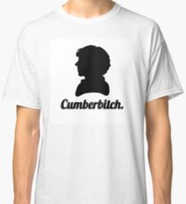 Cumberbitch silhouette design Classic T-Shirt