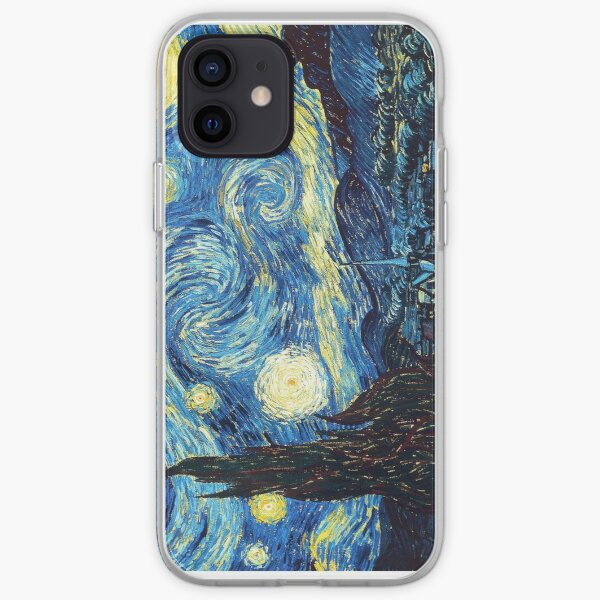 Starry Night- Vincent Van Gogh iPhone Soft Case
