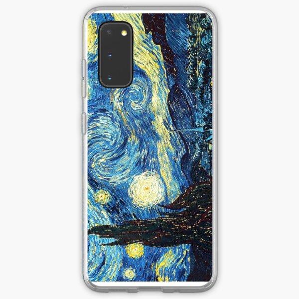 Starry Night- Vincent Van Gogh Samsung Galaxy Soft Case