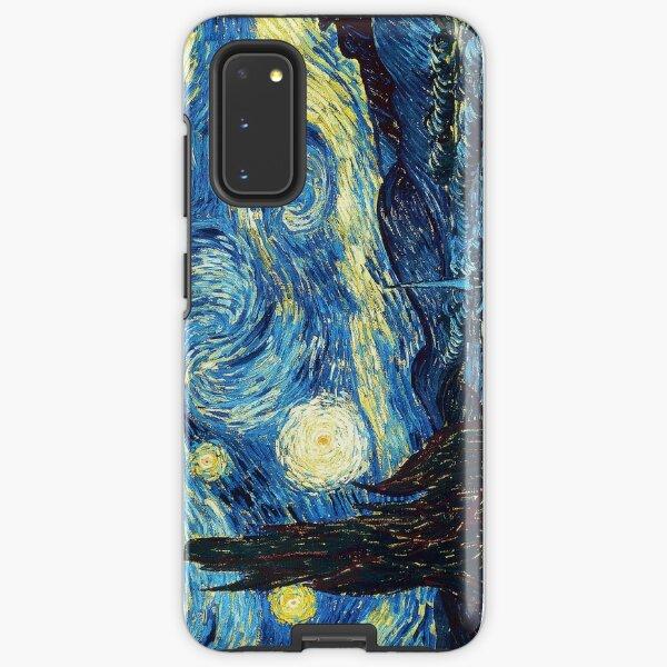Starry Night- Vincent Van Gogh Samsung Galaxy Tough Case