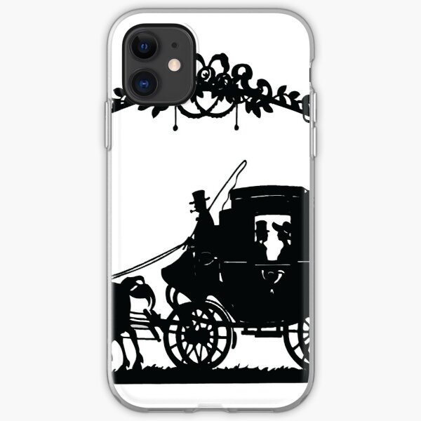 VINTAGE HORSE AND CARRIAGE Pop Art iPhone Soft Case