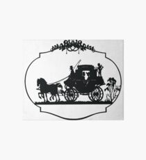 VINTAGE HORSE AND CARRIAGE Pop Art Art Board