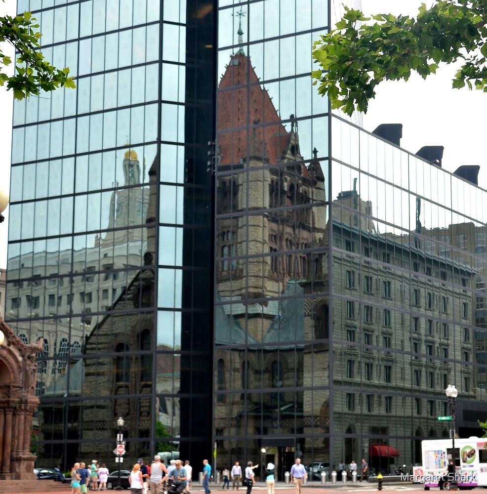 Boston windows by Margaret Shark