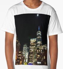 Metropolitan area, New York, Manhattan, Brooklyn, New York City, architecture, street, building, tree, car,   Long T-Shirt