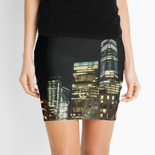 Metropolitan area, New York, Manhattan, Brooklyn, New York City, architecture, street, building, tree, car,   Mini Skirt