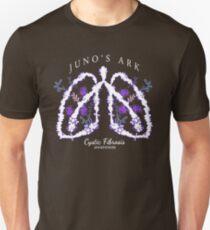 Cystic Fibrosis (White) Juno's Ark Unisex T-Shirt