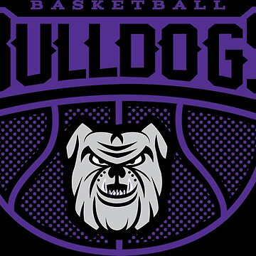 Bulldog Basketball Hoops - Just Nets Alternative Purple by 1of100