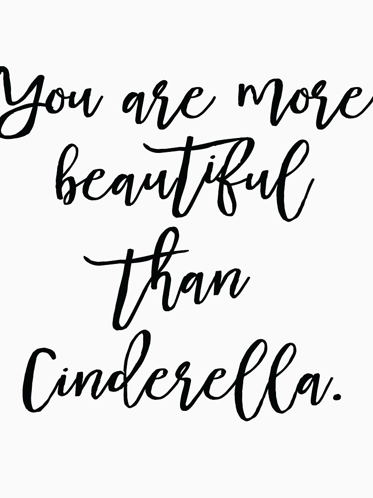 you are more beautiful than