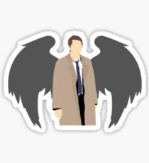 Castiel- An Angel of the Lord Sticker