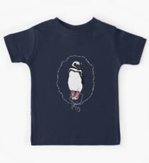 Happy Penguin in Converse Kids Tee