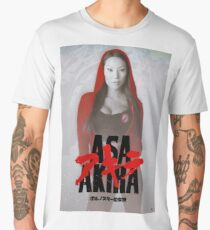 Asa Akira: The Animation Men's Premium T-Shirt