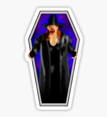 The Undertaker - Coffin Sticker