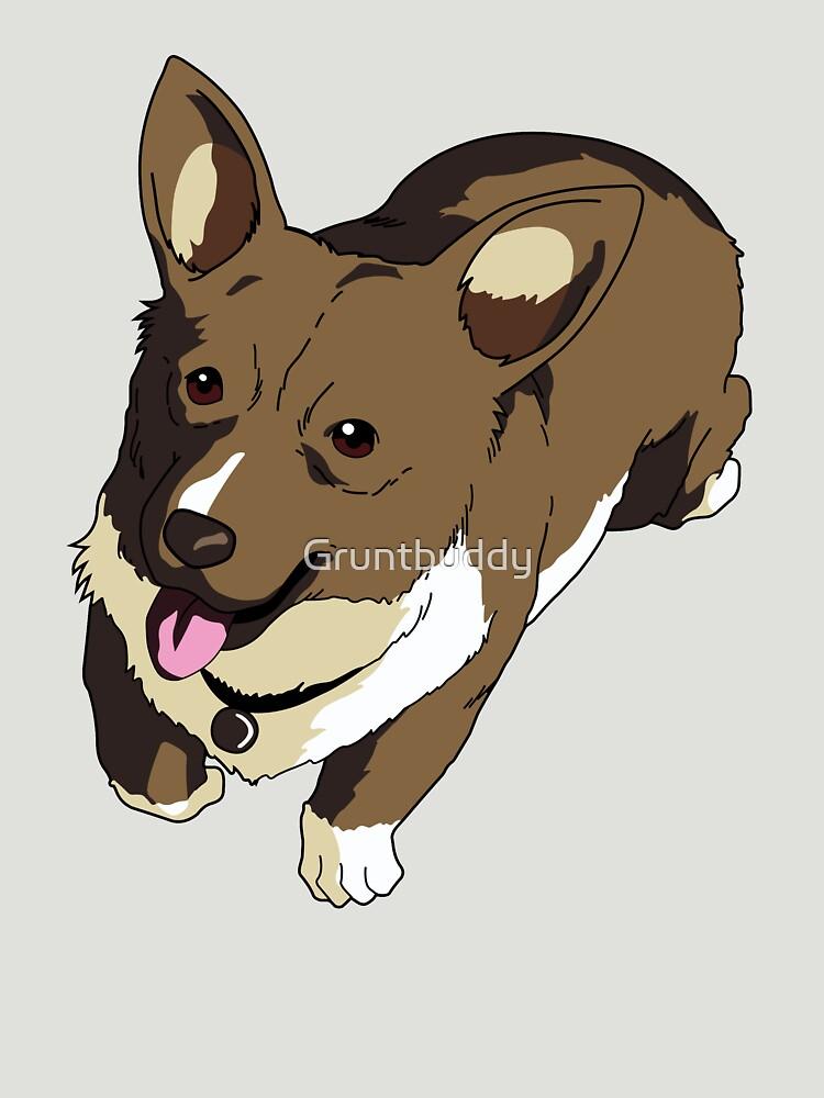 Corgi Ein The Data Dog by Gruntbuddy