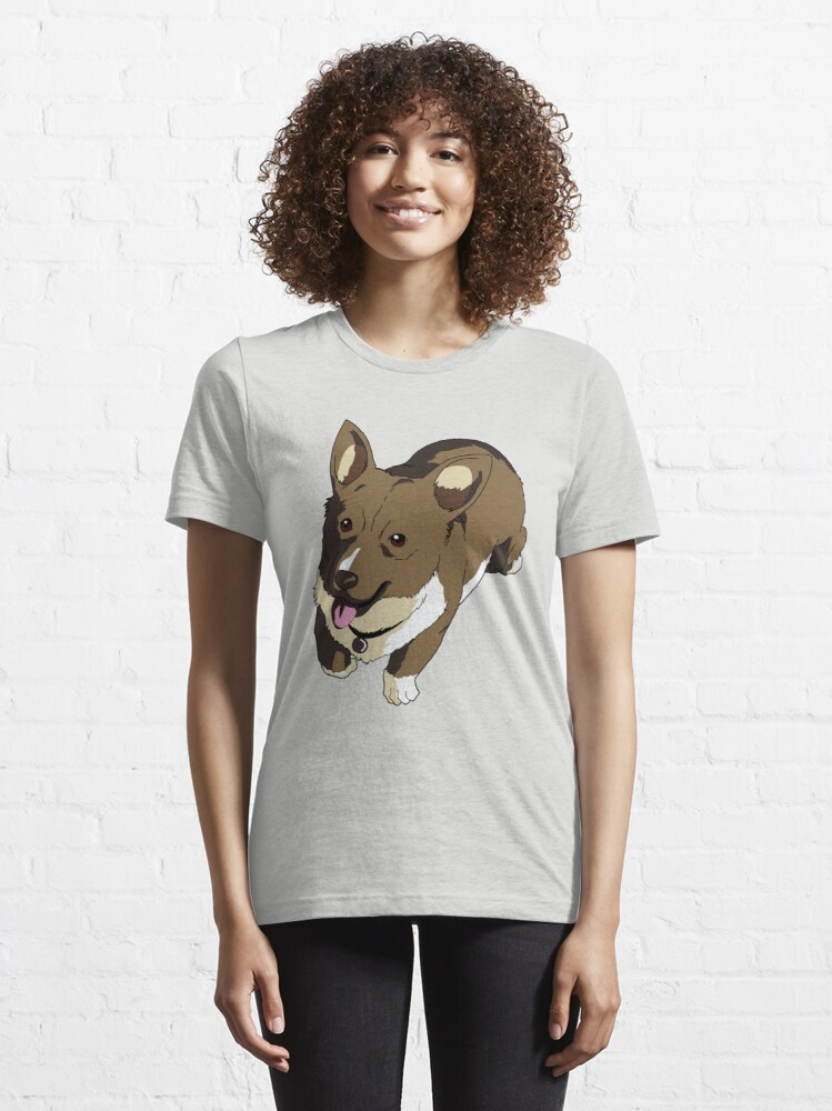Alternate view of Corgi Ein The Data Dog Essential T-Shirt