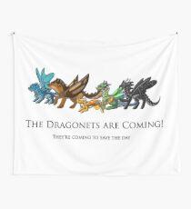 Tela decorativa Los dragonets estan viniendo