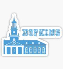 Johns Hopkins Geotag Sticker