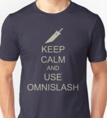 KEEP CALM AND USE OMNISLASH T-Shirt