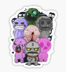 7 Deadly Sins Isaac Sticker