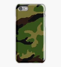 Camouflage Military Tribute iPhone Case/Skin