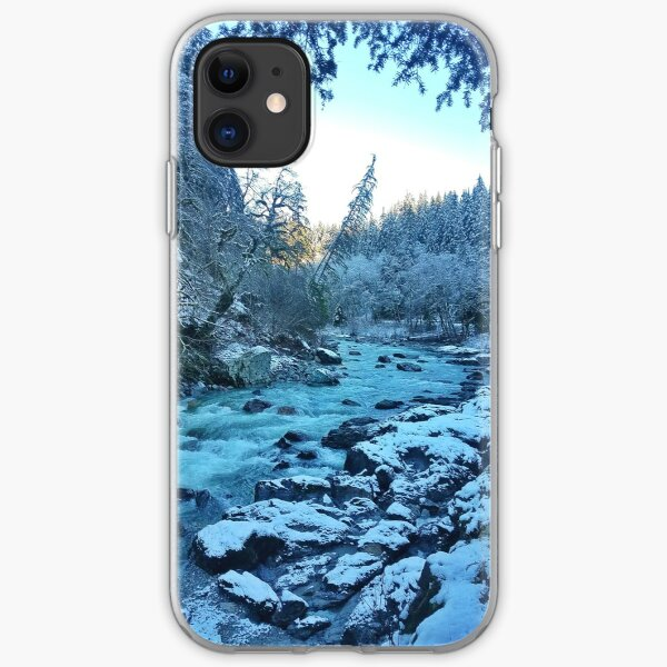 Snowy Banks iPhone Soft Case