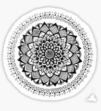 Sunflower Circus - Mandala Design Sticker