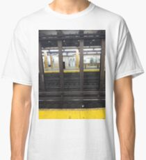 Iron, New York, Manhattan, Brooklyn, New York City, architecture, street, building, tree, car,   Classic T-Shirt