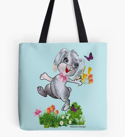 Bunny wishes Tote Bag